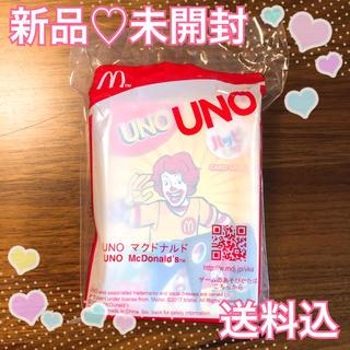 マクドナルド - 新品 未開封 マクドナルド ハッピーセット おもちゃ UNO 送料込