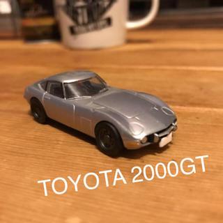 トヨタ - トヨタ2000GT ミニカー シルバー
