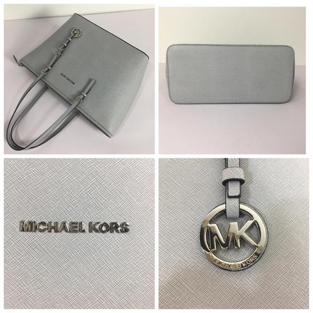 Michael Kors(マイケルコース)の◆新品◆マイケルコース◆ジップトートバッグ◆A4収納◆グレー レディースのバッグ(トートバッグ)の商品写真
