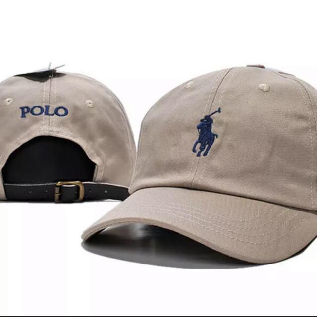 Ralph Lauren(ラルフローレン)のタイムセール !新品男女兼用ラルフローレン キャップ ベージュ レディースの帽子(キャップ)の商品写真