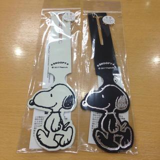 SNOOPY - スヌーピー☆ 革製ラゲッジタグ