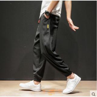 ★大人気★ メンズ アイスシルク カジュアルパンツ ズボン
