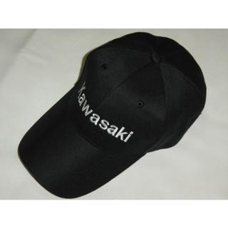 【送料無料】Kawasaki カワサキ CAP キャップ 帽子 黒