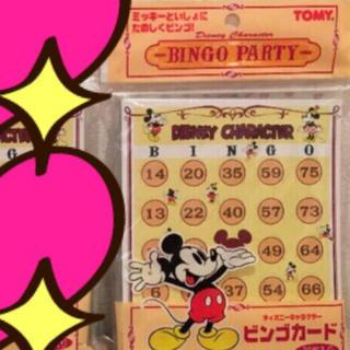 Disney - ミッキーのビンゴカード♡♡