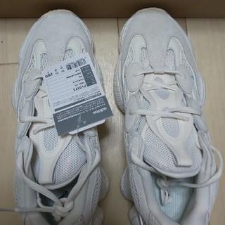 アディダス(adidas)のアディダスのイージーブースト500アダルトボーンホワイトFV3573です!(スニーカー)