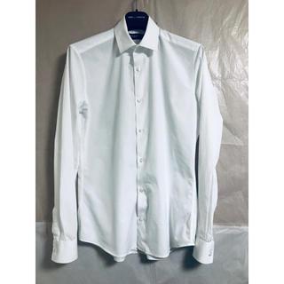 ジバンシィ(GIVENCHY)のGIVENCHY コンパクトカラーシャツ ホワイト(シャツ)
