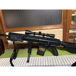 サバゲー引退セット HK417カスタム BDUと装備一式