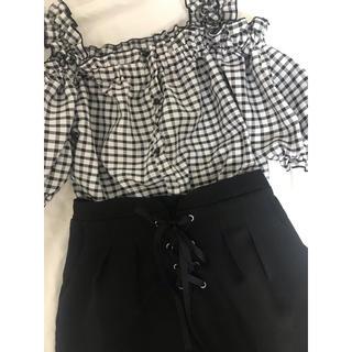 ByeBye - スカート 黒 リボン 量産