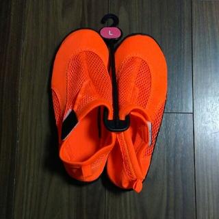 【Tokutokushu様専用】水陸両用サンダル 靴のヒラキ L(サンダル)