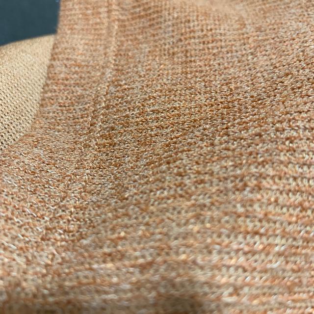 GU(ジーユー)のLサイズ オレンジ グレー ブラック ホワイト ボトルネックスリーブレス TWT レディースのトップス(カットソー(半袖/袖なし))の商品写真