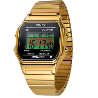 Supreme®/Timex® Digital Watch gold