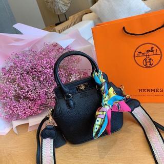 Hermes - HERMES ショルダーバッグ ハンドバッグ 大容量