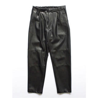 stein FAKE LEATHER TROUSERS