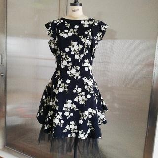 snidel - snidel の花柄フレアスカート