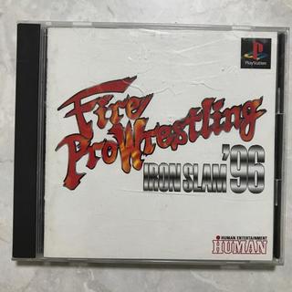 PS プレイステーション ファイヤープロレスリング アイアンスラム'96