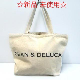 DEAN & DELUCA - 《DEAN&DELUCA》新品 未使用♪トートバック☆ナチュラル Lサイズ