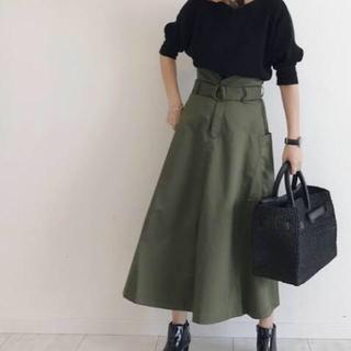 JEANASIS - ジーナシス ミリタリーポケットスカート