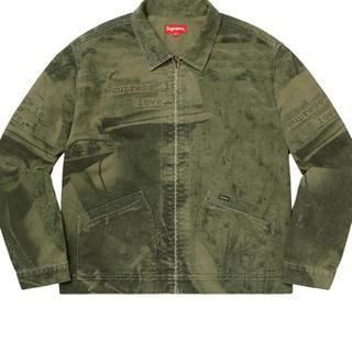 Supreme - Sサイズ supreme is love denim work jacket