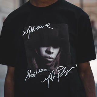 Supreme - ※送料込 supreme Mary J. Blige Tee 黒 L