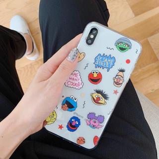 iPhoneケース iPhone7/8 セサミストリート エルモ