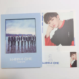 wanna one  CD  TO BE ONE  ジソン