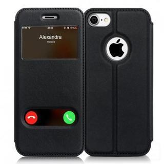 ★即日発送★ 手帳型 ケース ブラック iPhone7 他カラー機種有
