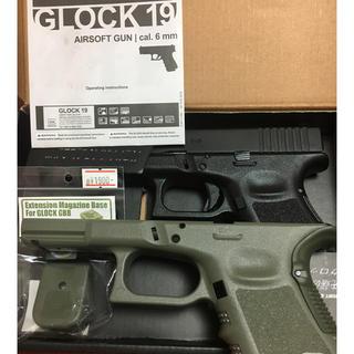 SAA GLOCK19 Gen3 GBB(セラコート仕上げ)&予備パーツ