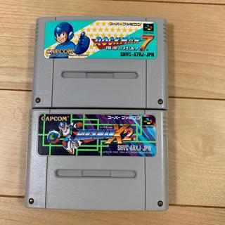 SFC ロックマン7 と ロックマンX2