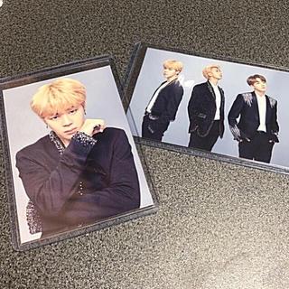 WINGS ソウルコン ミニフォト【BTS+JIMIN】2枚セット