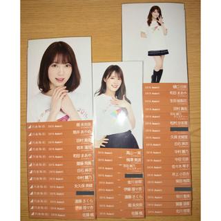 乃木坂46 全ツ2019共通ライブTシャツ 生写真 まとめ