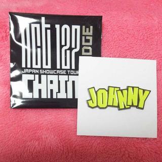 NCT127  chain ピンバッジ/トレカ  ジャニ JOHNNY