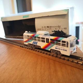 土佐電鉄600型 JAS レインボーセブン号