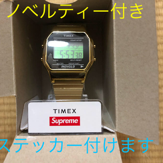 supreme  Timex digital Watch ゴールド おまけ付き