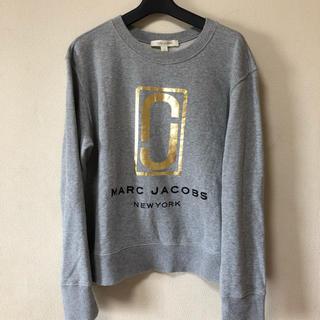 マークジェイコブス(MARC JACOBS)のMARC JACOBS ダブルJ ロゴ スウェット L(トレーナー/スウェット)