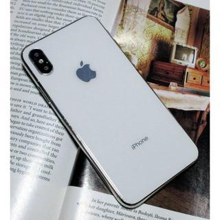 【モックアップ】iPhone XSホワイト 展示 サンプル