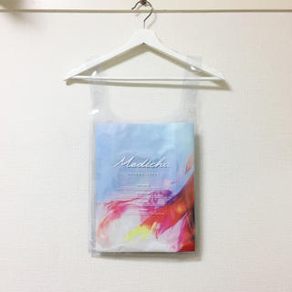 ザラ(ZARA)のmedicha❣️新品 非売品 PVCトート クリアハンドバッグ(トートバッグ)