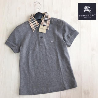 BURBERRY - 新品タグ付き☆バーバリーロンドン ポロシャツ Sサイズ