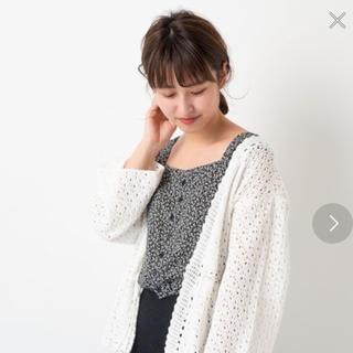 カスタネ(Kastane)の新品未使用 Kastane 花柄ビスチェ ブラック(シャツ/ブラウス(半袖/袖なし))