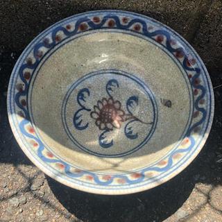 中国骨董 中国古美術 茶碗 魚 清王朝
