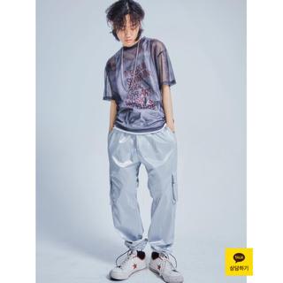 バレンシアガ(Balenciaga)のopen the door メッシュ 透ける Tシャツ(Tシャツ/カットソー(半袖/袖なし))