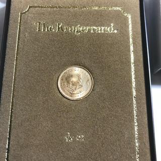 [お値引き中]1985年 クルーガーランド金貨 1/10 3.4g 22K