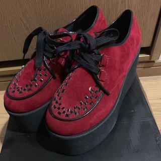 ノーブランド 厚底靴 シューズ