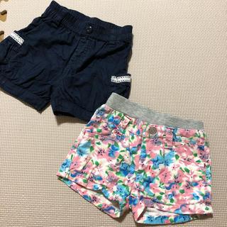 女の子★  ショートパンツ  2枚セット★ 90サイズ