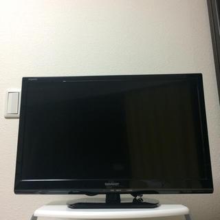 アクオス(AQUOS)のSHARP(シャープ) LED AQUOS LC-24K20 24型 液晶テレビ(テレビ)