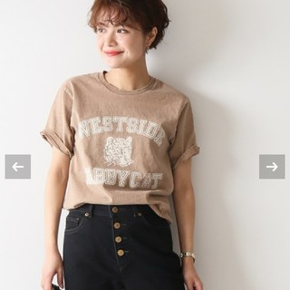 Spick and Span - Spick&Span 【MIXTA】Tシャツ TABBY CAT