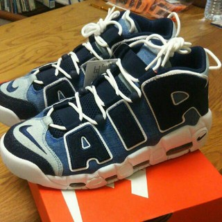 NIKE - NIKE AIR MORE UPTEMPO 96 QS DENIM