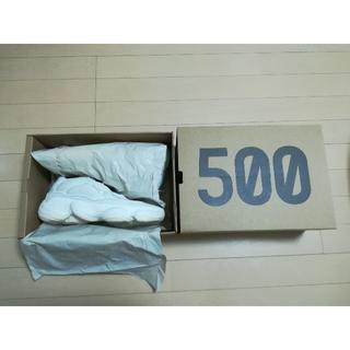 アディダス(adidas)のYEEZY BOOST 500 BONE WHITE 27.5 イージーブースト(スニーカー)