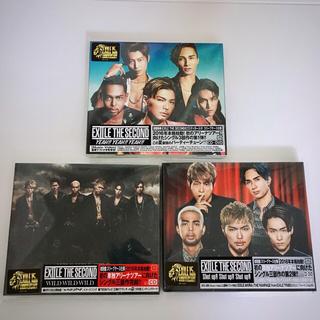 EXILE THE SECOND【再始動三部作】CD DVD セット+ DEP