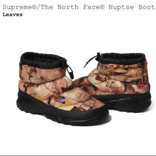 Supreme - 【希少】supreme × TNF Nuptse bootie Leaves