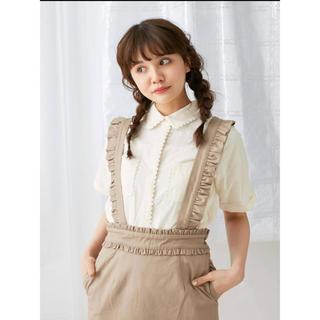 メリージェニー(merry jenny)のピコレースシャツ&ツイルフリルサススカート(ロングスカート)